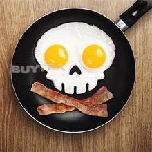 Christmas Supplies Best Deal 1pcs Silicone Novelty Skull Egg Fried Frying Mould Cooking Tools