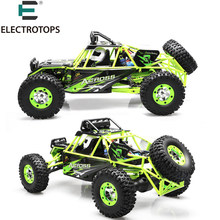 RC Car WLtoys 12428 4WD 1/12 2.4G 50km/h High Speed Monster Truck Radio Control RC Buggy Off-Road RTR Updated Version for child(China)