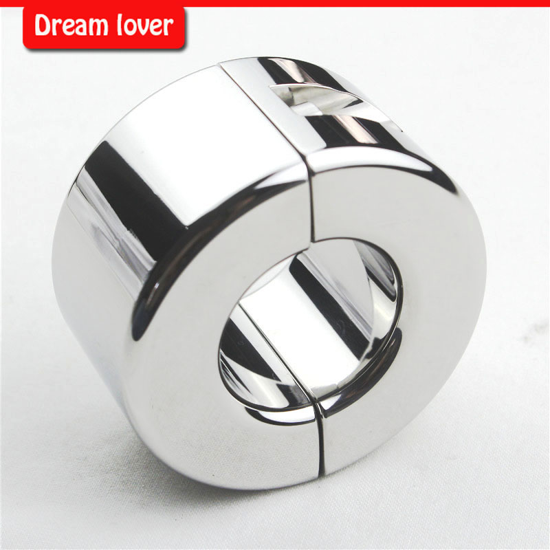 950g  Heavy stainless steel ball stretcher, Stainless Steel Scrotum Pendant Ball Stretcher Cock Cage Slave Sex Toys<br><br>Aliexpress