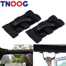 TNOOG Fits For Jeep Wrangler 2x Unlimited Roll Bar Grab Handle Off Road Accessory(China)