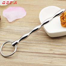 Buy QRTA Urethral Sounding Adult Product Prince Wand Penis Plug Metal Urethral Sounds Stainless Steel Chastity Toys Butt Sex Toy