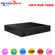 Buy Heanworld h.264+ 16ch full hd nvr 1080p network video recorder 2.0 mp 16 channel p2p cloud onvif cctv record system vga hdmi for $59.99 in AliExpress store