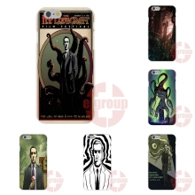 Soft TPU Silicon Print Phone For Apple iPhone 4 4S 5 5C SE 6 6S 7 7S Plus 4.7 5.5 cool lovecraft film festival
