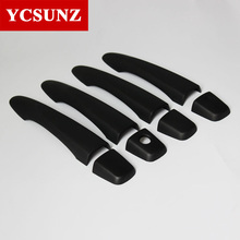 2014-2018 For Nissan Navara 2017 Np300 Accessories ABS Door Handle Covers For Nissan Navara frontier 2016 Car Styling YCSUNZ(China)