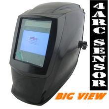 Big view area Solar Auto darkening filter welding helmet/face mask/Electric welder mask/gogglssfor TIG MIG MMA welding machine