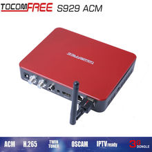 Full HD Digital Satellite Combo Receiver DVB S/S2 TOCOMFREE S929ACM IKS + SKS  Chile Argentine South America