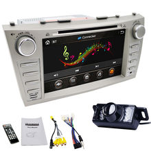 Double 2 Din 8 inch HD Digital Touch Screen Car Stereo Radio RDS In Dash DVD Player GPS Navigation for TOYOTA AURION CAMRY maps(China)