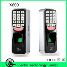 Waterproof metal good quality fingerprint access control system with card reader and keypad X600