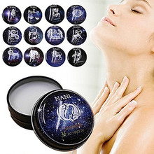 High Quality12 Signs Constellation Zodiac Elegant Fragrance Deodorant Solid Perfume and fragrances Plant Extract For Women Man(China)