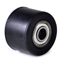 DWCX 8mm Rubber Tensioner Chain Pulley Roller Guide Wheel Fit for Most Chinese Made Dirt Pit Bike Motorcycle 3.5x 0.8x2.6cm