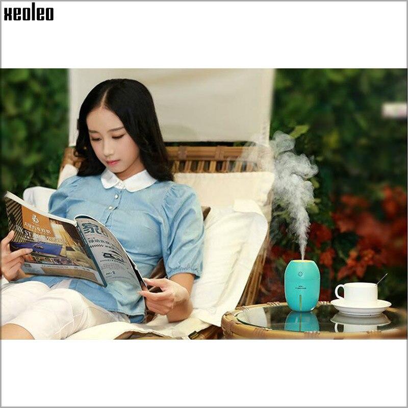 Xeoleo Mini USB Humidifier Lemon Air Diffuser Office Purifier Atomizer LED Humidifier Mist Maker Yellow/Green/Orange/Blue Gift<br><br>Aliexpress