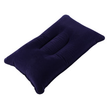 Cheap Ultralight Camping Pillow Inflatable Mat Pillow For Outdoor Travel Set Portable Camping Tent Cushion Comfortable Soft PVC(China)