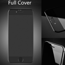 for Apple iphone 6S 6 4.7 inch 3D Full Cover Screen Tempered Glass 9H 0.26mm Protector Film Complete Protect all standing(China)