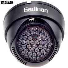 GADINAN 12V 48pcs IR 60 Degrees Bulbs CCTV Led Board 850nm Infrared Assist LED Lamp For CCTV Security Surveillance IP Cameras