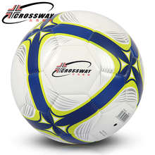 CROSSWAY Good Quality PU Soccer Ball Official Size 5 Football Goal League Ball Outdoor Sport Training Balls Futbol Voetbal Bola(China)