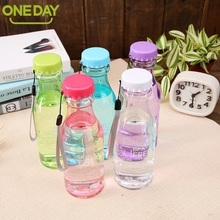 550ml My Water Bottle Portable Leak-Proof Bike Sports Bottle For Water Unbreakable Plastic Water Bottles Durable Cycling Camping(China)