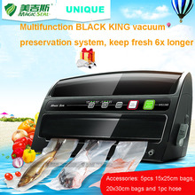 Food saver multi function vacuum sealer with roll cutter and roll storage(China)