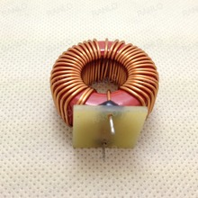 Powe choke iron power core inductor T106-2, 22uH, 5A 0.8mm copper wire