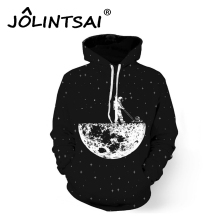 Brand Fashion Hoodies Hip Hop Men's Sweatshirts Plus Size 5XL 3D Print Astronaut Harajuku Pullovers Space Stars Men's Tracksuits(China)