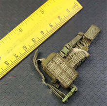 Mnotht 1/6 Solider Toys S0085 French Army Special Forces cloth leg holster Model For 12in Action Figures l30