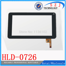 "New 7"" inch case Tablet HLD - 0726 silead HLD-0726 Touch Screen Replacement Glass Digitizer JXD S6600 Ployer MOMO9 III 3(China)"