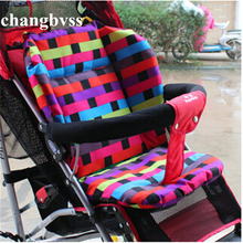 Stroller liner Soft Thick Pram Cushion Chair BB Car Umbrella Cart Seat Pad Liner Infant Stroller Mat For Baby Kids