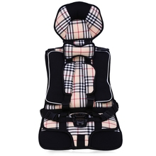 Portable Comfortable Kids Protection 9 months-12 years Old Car Safety Seat Infant Practical Baby Cushion