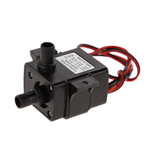 12V DC Brushless Water Pump 3M 240L/H Brushless Mini Electric Submersible Water Pump ABS Ultra-quiet  IP68 4.2W Aquarium Pompe