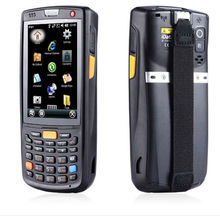 Warehouse Industry I C program software using Windows Mobile 6.5 OS. PDA Handheld Terminal GRS WIFI GPS 2D Wireless Scanner(China)