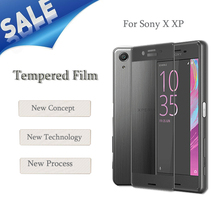 Screen Protector Film 3D Curved Edge Colorful Full Cover Screen Protector For Sony Xperia X/XP Performance Tempered Glass
