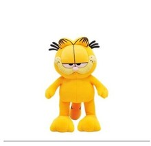NEW STuffed plush toy lovely standing Garfield doll soft Toy birthday gift about 35cm(China)