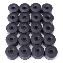 20Pcs Wheel Nut Bolt Cover Cap 17mm For VW Golf MK4 Passat Audi Beetle Hub-D2TB