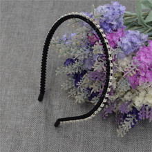 Girl Headbands with Flowers for Woman Rim Accessories 2016 Hot Sales Fashion White Lace Solid Hairband Hair Accessories