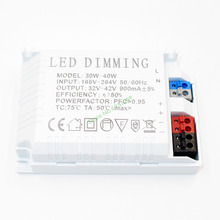 High Quality Dimmable Isolated 900mA 30W DC 32V - 42V Led Driver 30W Power Supply AC 220V for Dimming LED lights