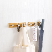 1Pc New Creative Life Household Decoration Hook Coat Racks Hangers Wall Storage Hooks Clothes Hanger Rail #237815