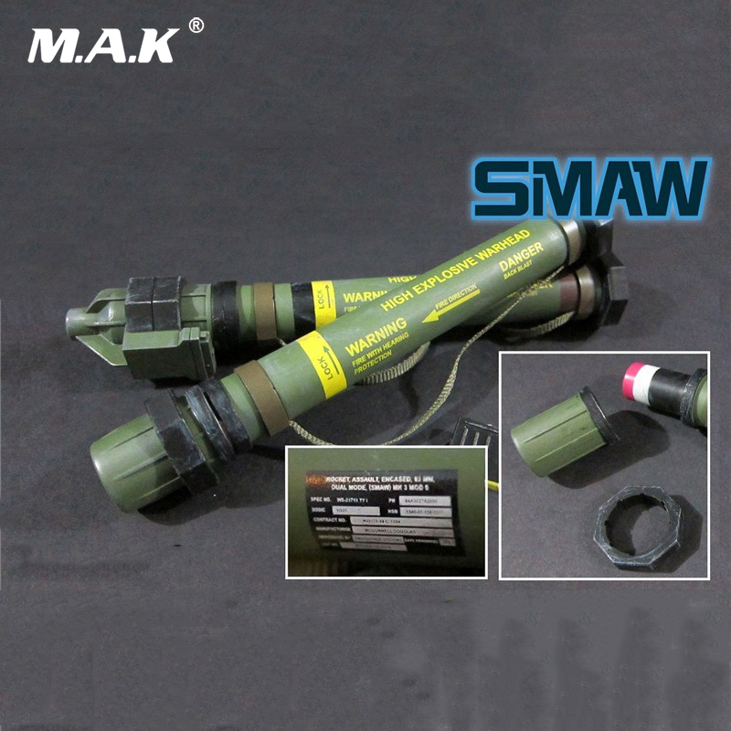 1/6 Scale Weapon Model SMAW MK153 Rocket Launcher For 12 inches Action Figures <br>