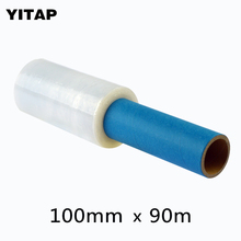 1roll *100mm*90m Stretch Film / Handy Wrap / Pallet Wrap(China)