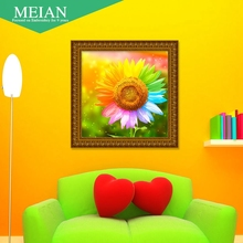"new full diamond painting ""Sunflower"" for the living room and bedroom decoration(China)"
