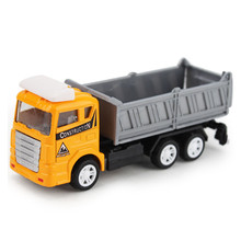 2017 Lastest 1:60 Alloy Engineering Toy Car Truck Children's Birthday Gift Toy Vehicles Cars For Kids Boy Brinquedo Menino(China)