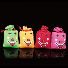 Free shipping 1pc Ha Ha Laughing Bag Push me I Will Laugh A Lot Gag Gift Prank Joke Funny Novelty Toy