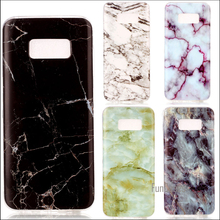 Crack Marble Case Cover For Samsung Galaxy S8 Plus S7 edge S6 edge S5 S4 S3 Stone Pattern TPU Protector(China)