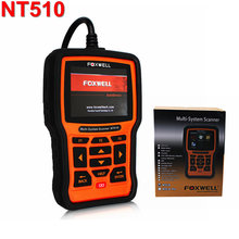 2017 Universal Car Diagnostic Tool Foxwell NT510 For BMW MINI Full System Engine ABS Airbag OBD2 Code Reader Scanner Automotive