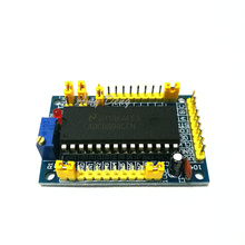 2pcs/lot ADC0809 analog to digital module eight / 8l road parallel AD converter module feeder, circuit finished(China)