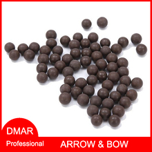 100pcs 10mm Professional Slingshot Ammo Mud Balls Beads Outdoor Products Slingshot Bullets High Quality Archery Hunting Shooting