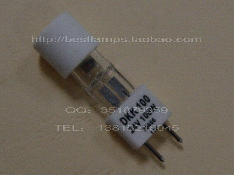 free shipping Donar 24v 100w skytron dkk h24100 shadowless light bulb 02<br>