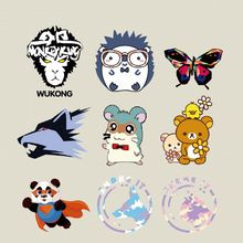 Small Size Patches Cartoon Animal Style For T-shirt Dresses Bag Sweater thermal transfer Patch for clothing By Household Irons(China)