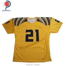Fast Delivery Factory Price Sublimation American Style Home and Away Football Shirts(China)