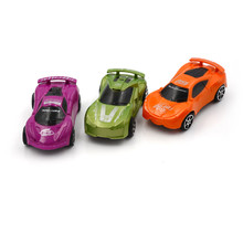 Child Kids plastic Toy Mini Pull Back Model Car Educational Toy Nice Birthday Gift(China)
