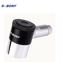 "SVBONY 1.25"" Illuminated Eyepiece 12.5mm Double Line Crosshair Reticle Eyepiece 4 Plossl Design 40 De FOV Telescope F9132(China)"
