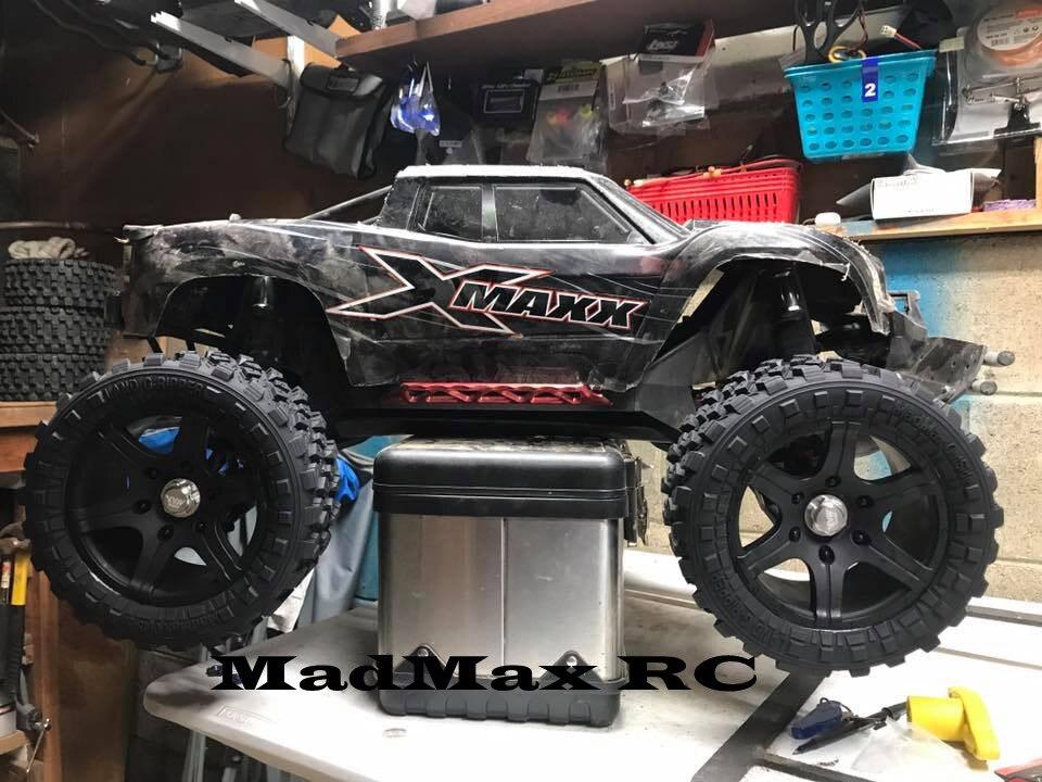 Light weight Widen wheel tire rim, wheel nuts for xmaxx 1/5 TRAXXAS X-MAXX 6s/8s <br>